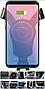 Держатель телефона MHZ с быстрой беспроводной зарядкой, фото 3