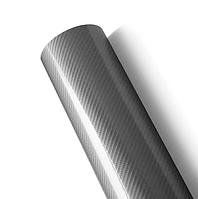 Пленка под карбон 5D Серый 152х30 см
