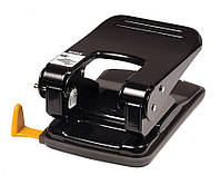 Дырокол для бумаги с линейкой SCHOLZ 4351 8 см 50 л черный