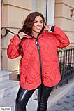 Стьобана Куртка демісезонна, виконана з плащової тканини Розмір: 44,46,48,50,52, фото 2
