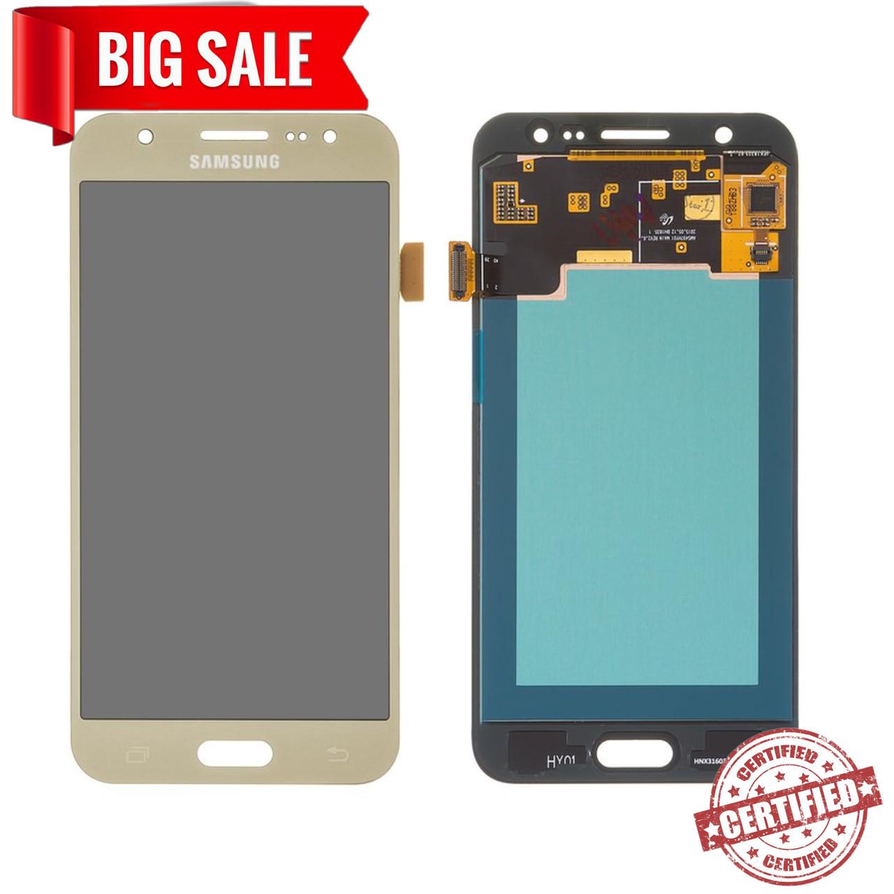 Модуль (дисплей + сенсор)для Samsung Galaxy J5 J500F/DS, J500H/DS, J500M/DS AMOLED золотий