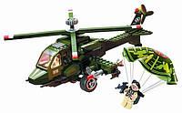 Конструктор BRICK  военный самолет