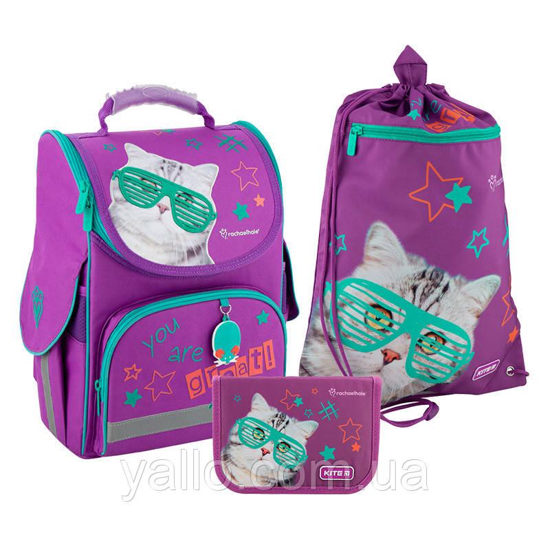 Школьный набор Kite Rachael Hale рюкзак пенал сумка SET_R20-501S