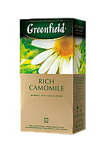 "Чай трав'яний RICH CAMOMILE 1,5гх25шт. ""Greenfield"" , пакет"