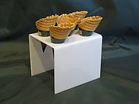 Підставка для морозива на 5 рожков, фото 1