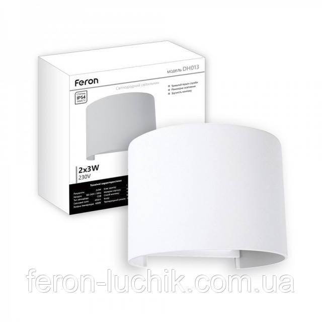 Архитектурный фасадный светильник с шторками подвижными - регулировка светового луча. Модель - DH013 Feron.