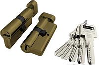 Циліндр Fuaro Z602 60 мм бронза ключ-вертушка