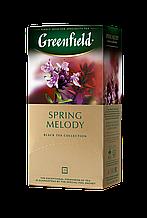 "Чай чорний SPRING MELODY 1,5гх25шт. ""Greenfield"" , пакет"