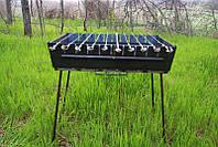 Мангал-чемодан на 12 шампуров  М-12