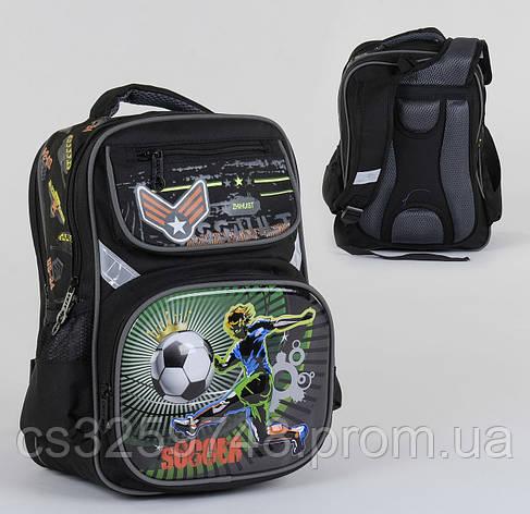 Рюкзак школьный С 36269, 2 отделения, 4 кармана, ортопедическая спинка, 3D принт, фото 2
