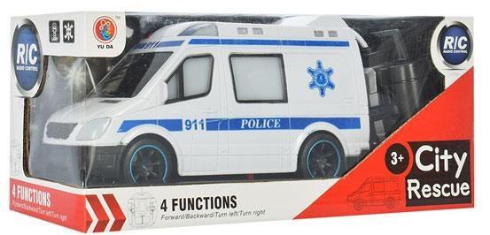 Машинка 688-788-888 (24шт) р/у,20,5см,3вида(скорая,пожарн,полиция), свет,на бат,в коробке