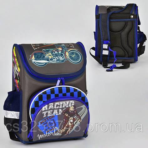 Рюкзак школьный N 00186, 1 отделение, 4 кармана, спинка ортопедическая, фото 2