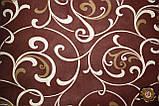 Еней-Плюс Полуторный постельный комплект Т0028 Еней-Плюс, цвет: коричневый, бежевый (кремовый), фото 2