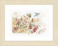 """Набор для вышивки крестом """"Птицы в кустарнике"""" (Тits in a Bush)"""