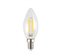 Светодиодная прозрачная лампа Filament 4Вт E14  C35 3000K