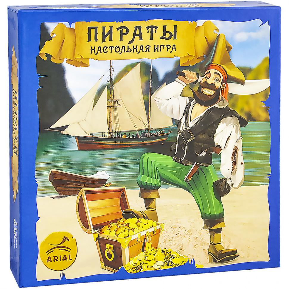 Настольная игра Arial Пираты 911234