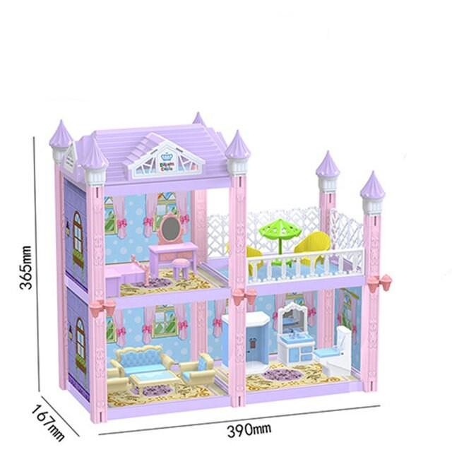 Кукольный дом для кукол 139 частей.