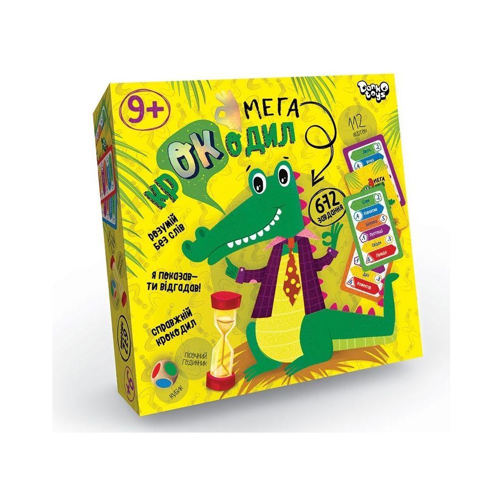 Игра Мега Крокодил (укр), Danko Toys