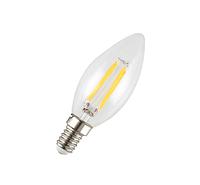 Светодиодная лампа Filament 4Вт E14 4500K C35 свеча