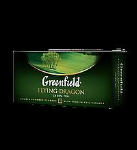 "Чай зелений FLYING DRAGON 2гх25шт. ""Greenfield"" , пакет"