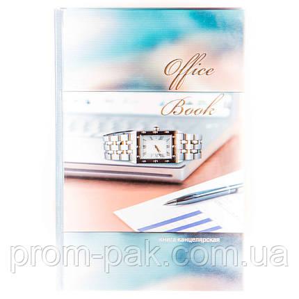 Книга офисная в клетку А4 96 лист  , фото 2