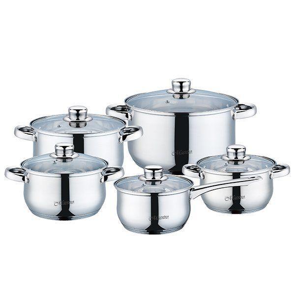 Набор посуды Maestro из 10 предметов (MR-2020)