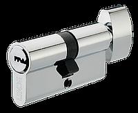 Циліндр Linde A5E30/30T 60 мм хром 5 ключів
