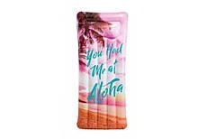 Надувной матрас для плаванья Intex 58772 (178х84 см) Вдохновение Розовый
