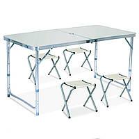 6001 Стол Складной Для Пикника/4 стульчика