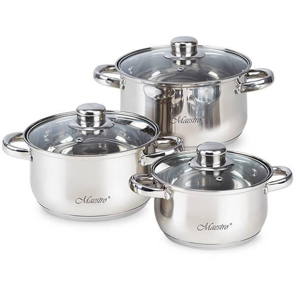 Набор посуды 6 предметов MR-2020-6XL