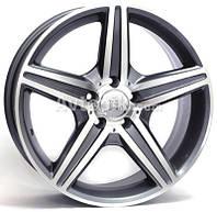Литые диски WSP Italy Mercedes (W758) AMG Capri New Size 2008 R17 W8 PCD5x112 ET35 DIA66.6 (polished)
