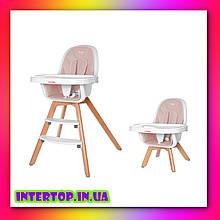 Детский стульчик для кормления CARRELLO Prego CRL-9504 Lavender Pink розовый
