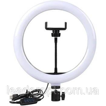 ОПТ Кільцева LED лампа LC-330 33см зі штативом