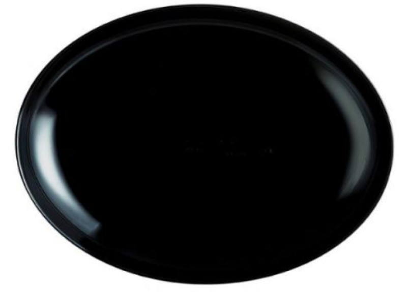 Блюдо овальное Luminarc Friends Time Black 33 см (M0065)