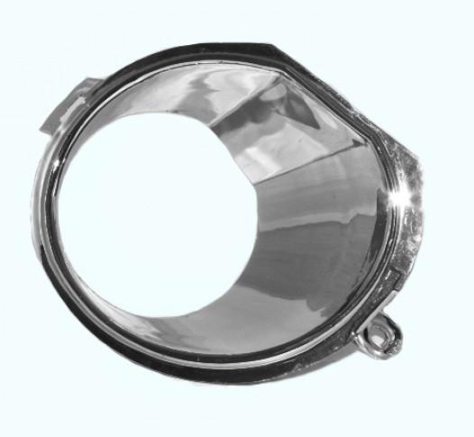 Накладка противотуманной фары R (хром) Geely MK2