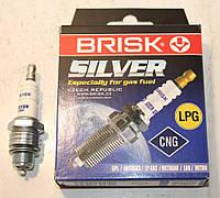 Свеча зажигания 402 двигатель, Газ 53,3110 3307, Зил 130 Brisk Silver под газовое оборудование ГБО