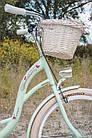 Велосипед VANESSA Vintage 26 mint Польша, фото 5