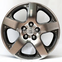 Литые диски WSP Italy Volkswagen (W430) Sorrento R15 W6.5 PCD5x100 ET35 DIA57.1 (anthracite polished)