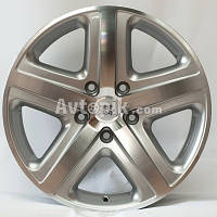 Литые диски WSP Italy Volkswagen (W440) Albanella R18 W8 PCD5x130 ET45 DIA71.6 (silver polished)