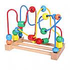 Лабиринт деревянный детский Ecotoys Mula HJD93312 для детей, фото 2