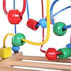 Лабиринт деревянный детский Ecotoys Mula HJD93312 для детей, фото 4