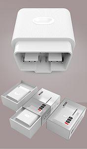 Диагностический сканер FCAR FOBD для легковых автомобилей (Автосканер)