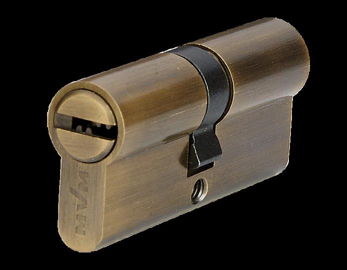 Циліндр MVM P6P30/30 60 мм стара бронза 5 ключів