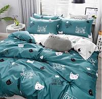 Двухспальный постельный комплект-кошка бирма