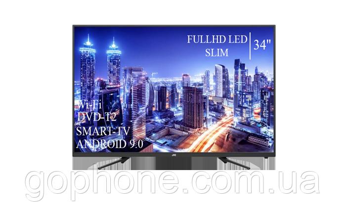 """Телевизор JVC 34"""" Smart-TV/Full HD/DVB-T2/USB Android 9.0"""