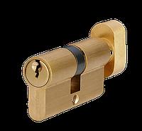 Циліндр MVM P6E30/30T 60 мм матова латунь 5 ключів