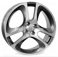 Литые диски WSP Italy Alfa Romeo (W255) Mars Mito R16 W7 PCD4x98 ET39 DIA58.1 (anthracite polished)