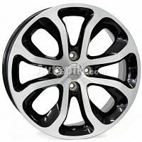 Литые диски WSP Italy Citroen (W3403) Nimes R16 W6 PCD4x108 ET23 DIA65.1 (glossy black polished)