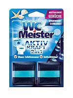 Таблетка для зливного бачка WC Meister Ocean Activ kraft 2in1 2*50 г (Океан)