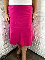 """Спідниця жіноча """"Classic"""" рожева 48, 50, 52"""